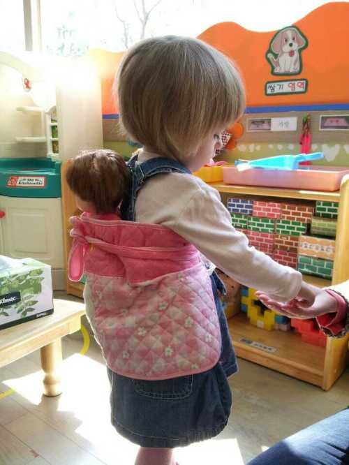 в детском саду за границей Южная Корея
