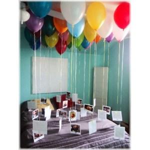 подарок фото и шары на день рождения папы 3