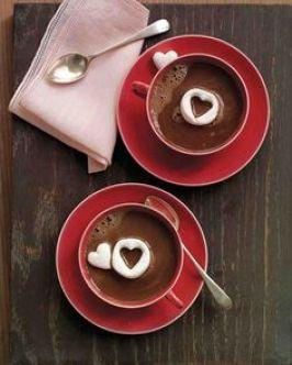 идеи для завтрака для любимого сердечки из маршмелоу
