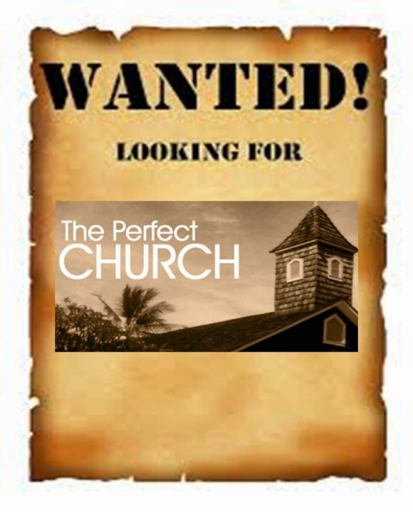 wanted the perfect church