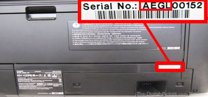 Canon IPF PRO1000 Image Serial Number Affected by Leakage