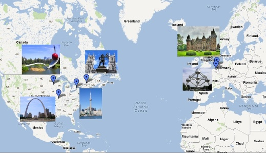 June 2012 Workshop locations