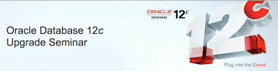 Oracle Database 12c Upgrade Workshop banner
