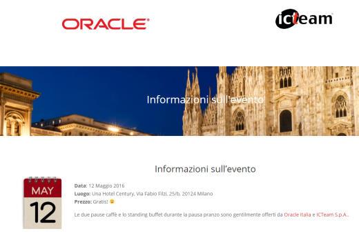 OTN Tour Milan, Italy
