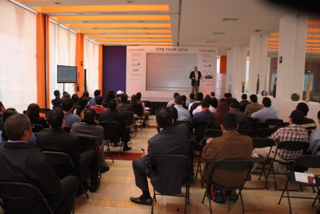 Great audience at the OTN Tour in Mexico City