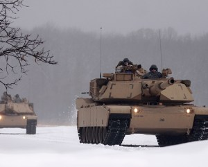 Tankers Conduct Advanced Winter Operations