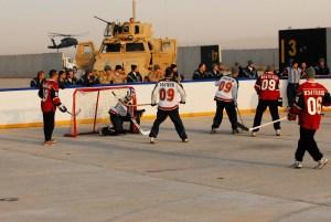 Minnesota Hockey Day in Iraq
