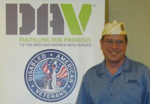 DAV Commander and Folds of Honor