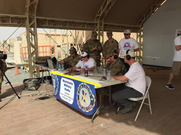 Serving our Troops Live from Camp Arifjan Kuwait
