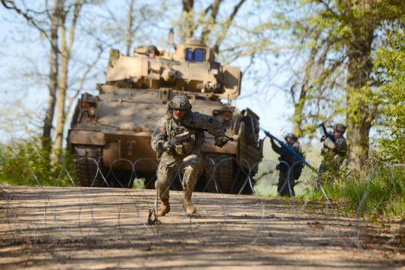 1st Armored Brigade Combat Team and MDVA Programs