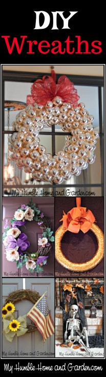 DIY Wreaths That I Love! on MyHumbleHomeandGarden.com