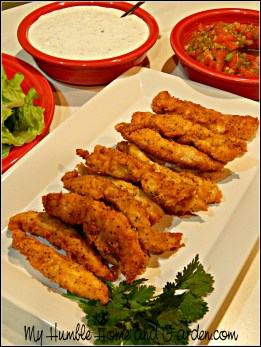 How to Easily Make Perfect Buffalo Chicken Tenders on MyhHumbleHomeandGarden.com