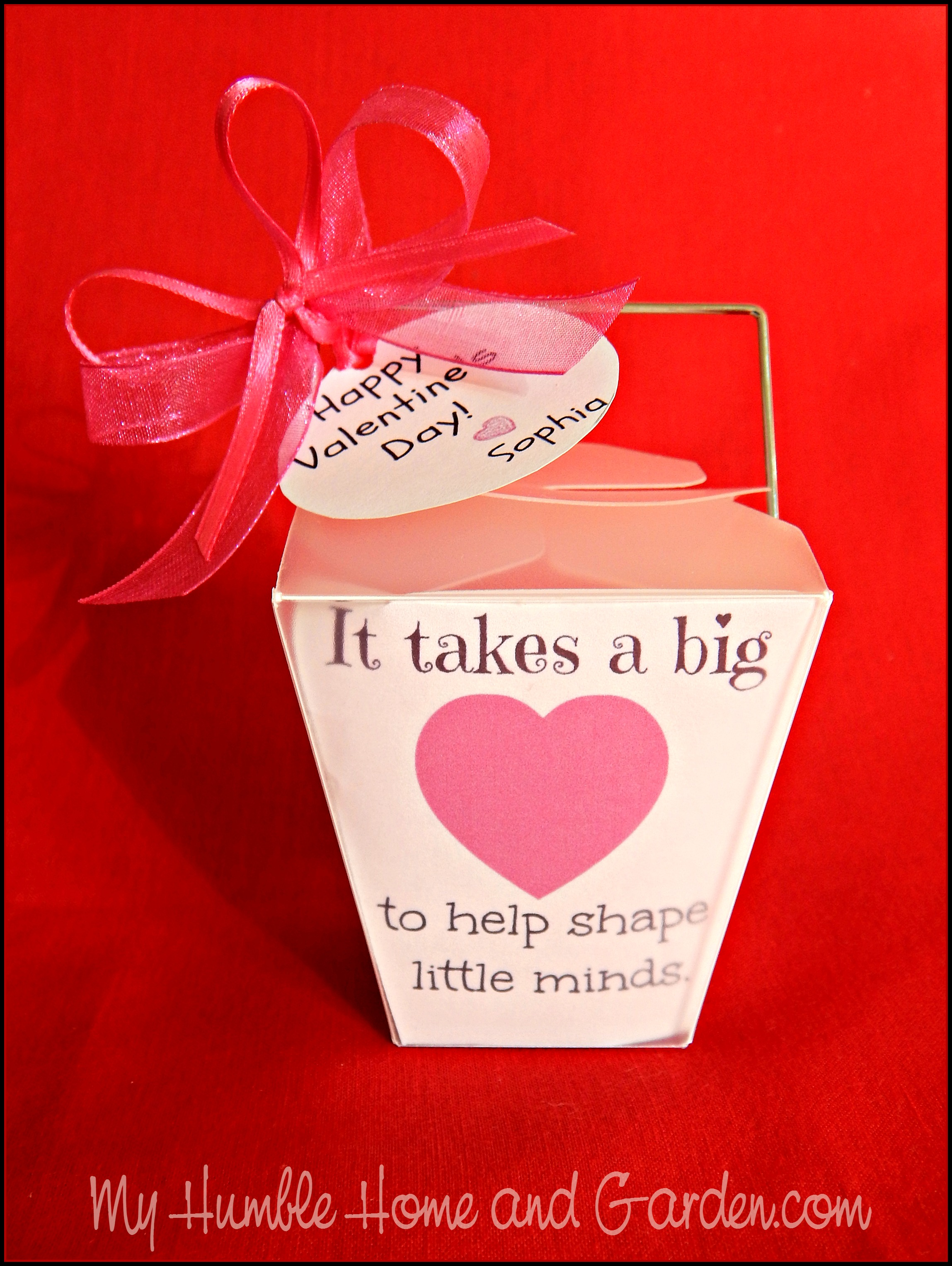Valentine\'s Day Gifts For The Teacher on MyHumbleHomeandGarden.com ...