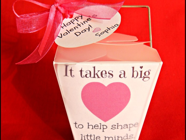 Valentine's Day Gifts For The Teacher on MyHumbleHomeandGarden.com