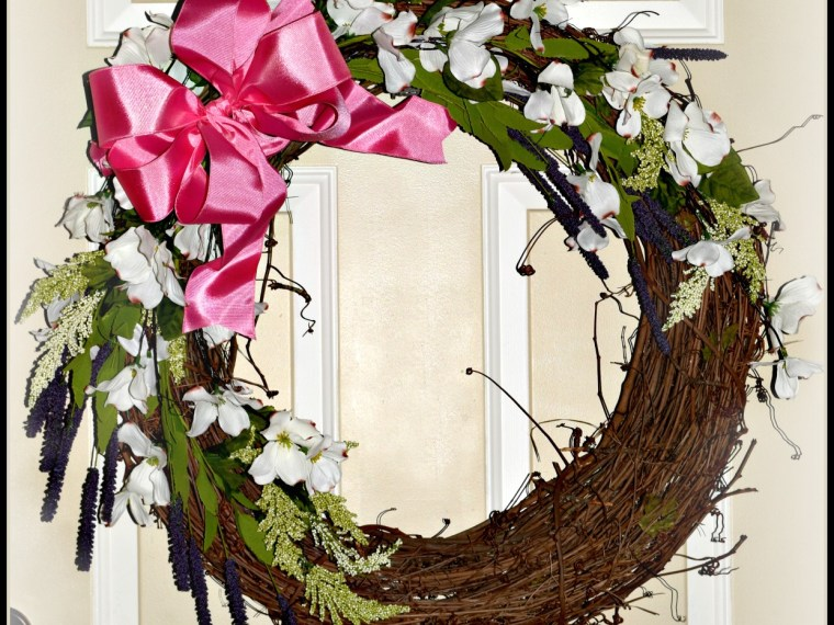 Easily Make A Beautiful New Wreath To Greet Spring!