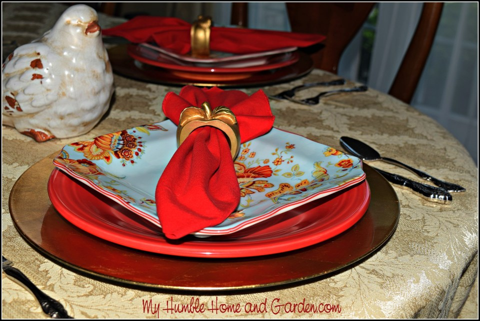 Place settings on MyHumbleHomeandGarden.com