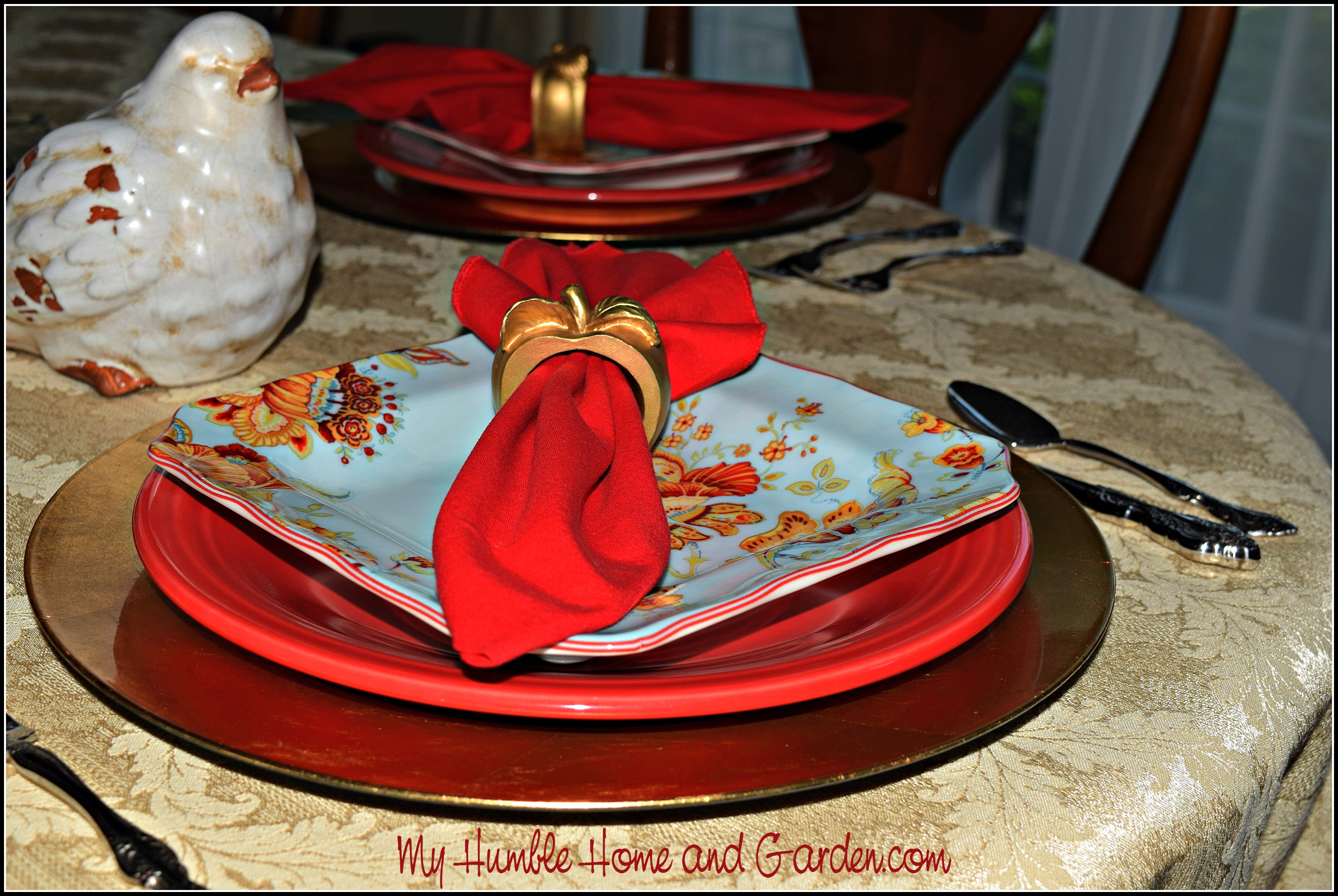 Place settings on MyHumbleHomeandGarden.com & Fiesta Dinnerware A Nice Foundation For Place Settings - My Humble ...