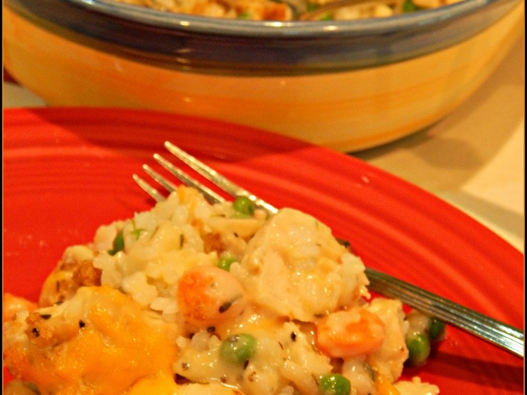 Simply The Best Chicken And Rice Casserole