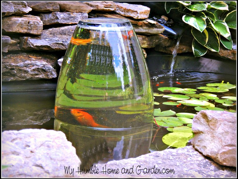 Amazing Fish Tower And Water Garden