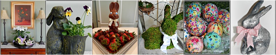 Easter ideas on MyHumbleHomeandGarden.com