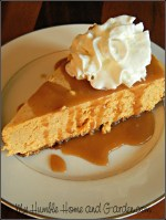 Best Pumpkin Cheesecake Ever! on MyHumbleHomeandGarden.com