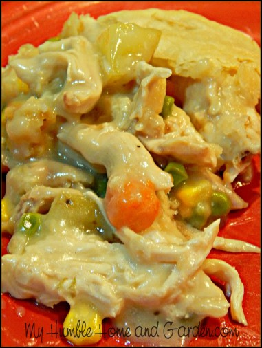 Chicken Pot Pie on MyHumbleHomeandGarden.com
