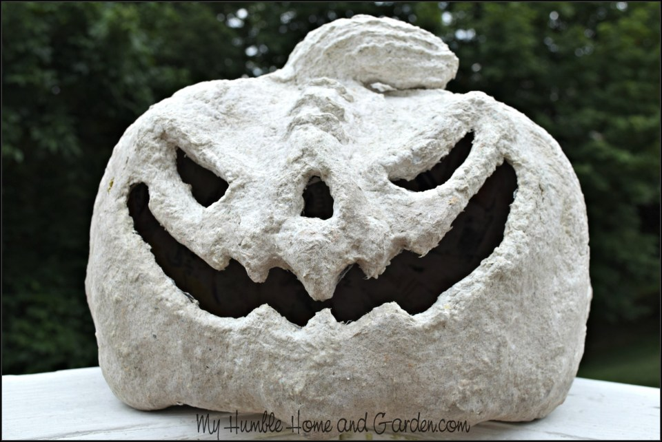 Papier-mâché Pumpkins -part 2- How To Make