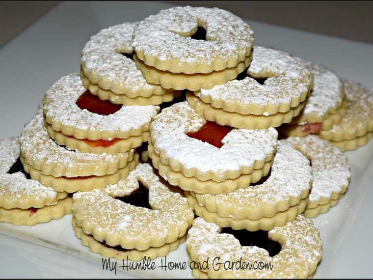 How To Make Halloween Linzer Cookies