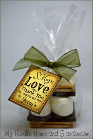S\'more Wedding Favors Your Guests Will Actually Want - My Humble ...