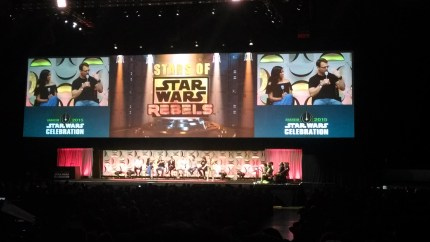 Star Wars Rebels Panel and Press Conference