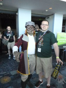 He was at the Untold Clone Wars panel, where he asked Dave Filoni, in character, if he was to return in Rebels. Dave played coy, of course