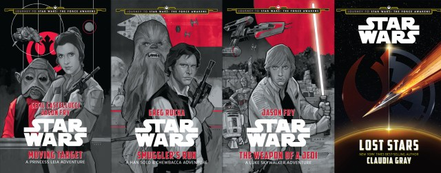 Journey to Star Wars The Force Awakens YA Covers