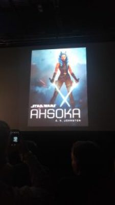 Ahsoka's Untold Tales Panel Ahsoka Novel Cover Art