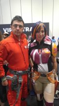 Sabine and Poe Dameron