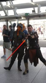 Starkiller and Rianna Saren (aka Legends video game characters unite!)
