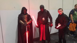 The Sith Will Rule the Queue Line