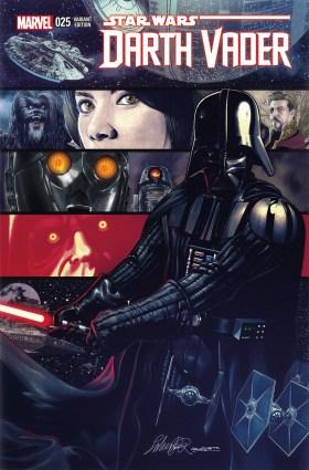 Darth Vader 25 Salvador Larroca Variant