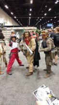 This Baze Malbus was fairly impressive. Wish I had gotten one of him and a Baze cosplayer