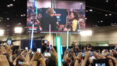 More of Hamill on the Star Wars Show Stage
