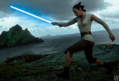 Vanity Fair The Last Jedi Photo Shoot Rey