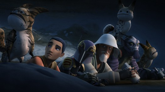 Star Wars Rebels Flight of the Defende
