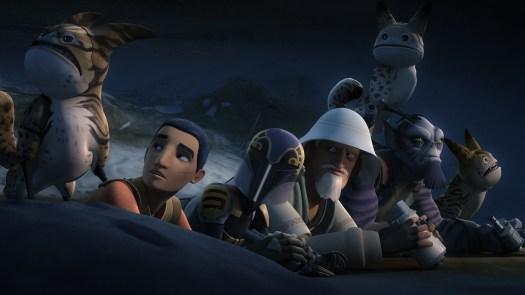 Star Wars Rebels Flight of the Defende