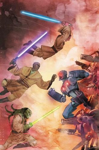 Jedi of the Republic - Mace Windu 5 Full Cover