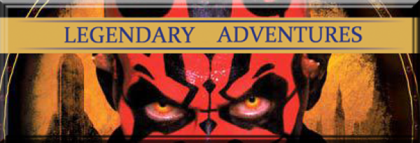Legendary Adventures #17 Darth Maul - Shadow Hunter