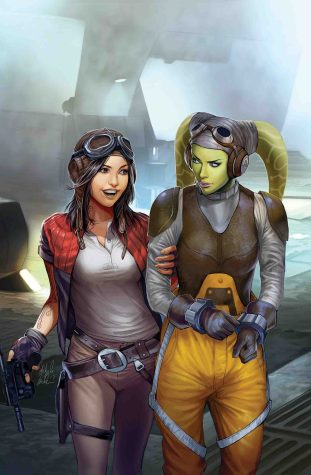 Doctor Aphra 18 Full Cover APHRA AND HERA HOLY SHIT