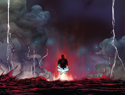 Rule of Five issue 12 Vader Meditates