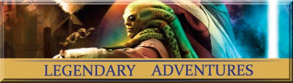 Legendary Adventures #21 The Cestus Deception