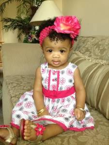 Shauma at 7 months