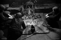 Priprema jela na kominu