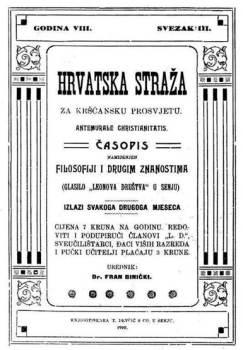 novine Hrvatska straža